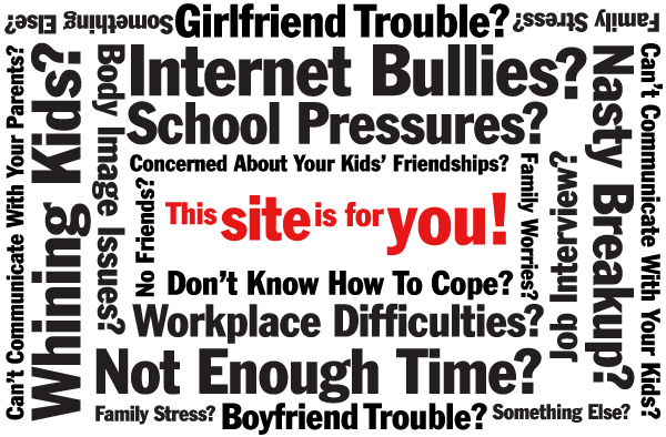 Do you have problems? This site's for you!